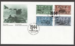 1994   World War II Sc 1537-1540 Se-tenant Block Of 4 - 1991-2000