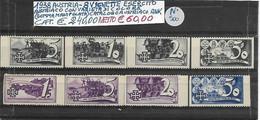 AUSTRIA 1938, VIGNETTE ESERCITO AUSTRIACO Con VARIETA' Di COLORE - Ungebraucht