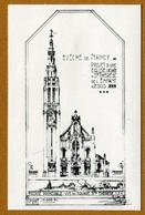 """NANCY  (54) : """" EVECHE DE NANCY - Eglise Sainte-Thérèse De L'Enfant Jésus N° 2 """" - Nancy"""