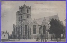 Carte Postale 56. Ploërmel  L'église Très Beau Plan - Ploërmel