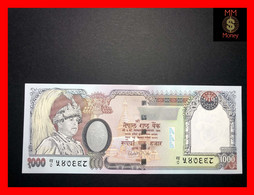 NEPAL 1.000  1000 Rupees 2002  P. 51  Sig. 15 Short  UNC - Nepal