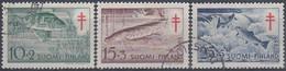 FINLANDIA 1955 Nº 426/28 USADO - Gebraucht