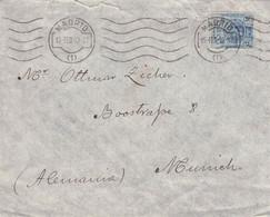 SPAIN - LETTER 1913 MADRID > MUNICH //G80 - Brieven En Documenten