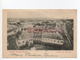 Nagyszombat Trnava Tyrnau 1900  Tausky J. Fiai  Shop - Eslovaquia