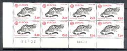 Neuf Bloc De 8 Numéroté - 1986  Y&T 2416 - EUROPA CEPT - Protection De La Nature - Genette - Chat - (1) - Nuevos