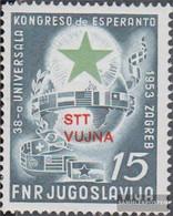 Trieste - Zone B 103 (complete Issue) Unmounted Mint / Never Hinged 1953 Esperanto - Nuevos