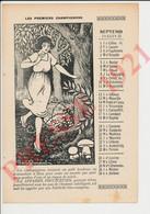 Les Premiers Champignons Mushrooms Les Pins Arbres Raymond Cortat Portrait Evêque De Saint-Flour 241/5 - Unclassified