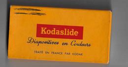 Guyane Lot De Diapositives Montrant Le Bagne De Kourou Avant Sa Destruction - Andere