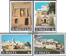 Malta 610-613 (complete Issue) Unmounted Mint / Never Hinged 1980 Structures - Malta