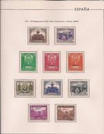 ESPAÑA 1931 - UNION POSTAL - SERVICIO OFICIAL - EDIFIL Nº 604/613* - VER DESCRIPCION - 1931-50 Ongebruikt