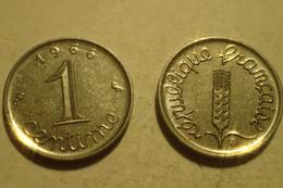 Monnaie France, 1 Centime épi - 1966, SUP - A. 1 Centime