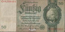 Deutsches Reich Rosenbg: 175a, Udr.-Bst.: T, Serien: A-P, KN 7-stellig Gebraucht (III) 1933 50 Reichsmark - 50 Reichsmark