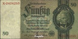 Deutsches Reich Rosenbg: 175a, Udr.-Bst.: I, Serien: V-Z, KN 7-stellig Gebraucht (III) 1933 50 Reichsmark - 50 Reichsmark