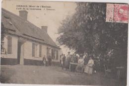 CPA KLUISBERGEN Orroir Mont De L'enclus Café De La Couronne - Kluisbergen