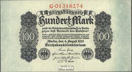 Deutsches Reich Rosenbg: 72 Gebraucht (III) 1922 100 Mark - 100 Mark