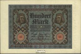 Deutsches Reich Rosenbg: 67b, 8stellige Kontrollnummer Gebraucht (III) 1920 100 Mark - 100 Mark
