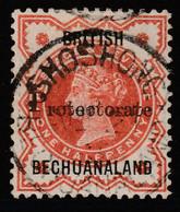 BECHUANALAND PROTECTORATE ½d SG40 SHOSHONG CDS - 1885-1895 Kronenkolonie
