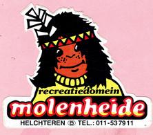 Sticker - Recreatiedomein - Molenheide - Helchteren - Autocollants