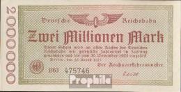 Berlin Pick-Nr: S1012a Inflationsgeld Der Deutschen Reichsbahn Berlin Gebraucht (III) 1923 2 Millionen Mark - 2 Millionen Mark