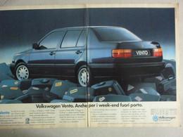 # ADVERTISING PUBBLICITA' VOLKSWAGEN VENTO  - 1994 -  OTTIMO - Werbung