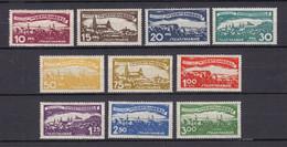 Wuerttemberg - 1920 - Dienstmarken - Michel Nr. 272/281 - Ungebr. - Wurttemberg