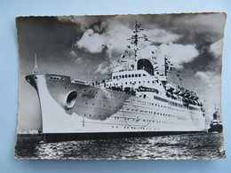 """Carte Postale : Paquebot """"ANTILLES"""" Compagnie Générale Transatlantique, Ligne Des Antilles Et De La Côte Ferme - Passagiersschepen"""