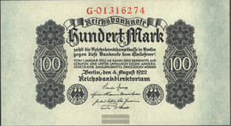German Empire Rosenbg: 72 Used (III) 1922 100 Mark - 100 Mark