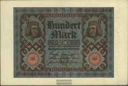 German Empire Rosenbg: 67b, 8stellige Kontrollnummer Used (III) 1920 100 Mark - 100 Mark