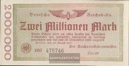 Berlin Pick-number: S1012a Inflationsgeld The German Reichsbahn Berlin Used (III) 1923 2 Million Mark - 2 Mio. Mark