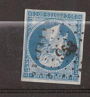 Petit Chiffre 953 Corcieux Sur Yvert N° 14 - 1849-1876: Periodo Classico