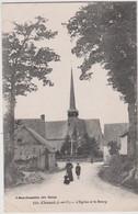 CPA  Chancé (35)  L'Eglise  Le Bourg Et Quelques Indigènes De Ce Tout Petit Village  Ed Mary Rousselière  521 - Sonstige Gemeinden