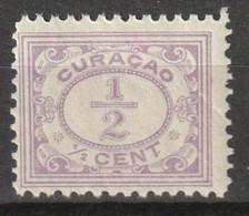 Curacao 1915-1926 Cijfer 1/2 Ct Violet NVPH 44 Postfris/MNH/** - Curazao, Antillas Holandesas, Aruba