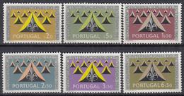 PORTUGAL 917-922, Postfrisch **, 18. Internationale Pfadfindertagung, 1962 - Ongebruikt
