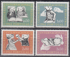PORTUGAL 923-926, Postfrisch **, 10. Internationaler Kongress Für Kinderheilkunde, Lissabon, 1962 - Ongebruikt