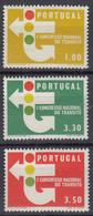 PORTUGAL 974-976, Postfrisch **, 1. Nationaler Verkehrskongress, 1964 - Ongebruikt