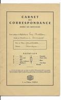 DALLAPORTA......CARNET DE NOTES .....VIRY CHATILLON1968............ - Diplomas Y Calificaciones Escolares