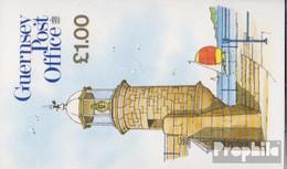 GB - Guernsey MH28 (kompl.Ausg.) Postfrisch 1988 Ansichten - Guernesey