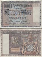 Bavaria Rosenbg: BAY4, Länderbanknote Bavaria Used (III) 1922 100 Mark - 100 Mark