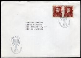 Brasil - 1958 - Lettre - FDC - Cachet Spécial - Brésil - Championnat Du Monde De Football - A1RR2 - 1958 – Zweden