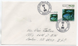 PALAU - STATIONERY COVER 2003 / THEMATIC STAMPS-FISH - Palau