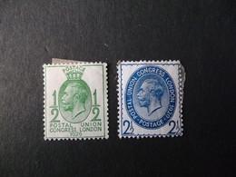 GREAT BRITAIN SG 434 & 437 HINGED - Ohne Zuordnung