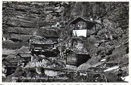 CPSM Chalets De Valenaz Sur Isérables (Suisse) - VS Valais