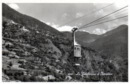 CPSM  Le Téléférique D'Isérables (Suisse) - VS Valais