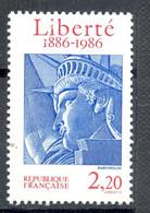 Timbre Neuf - 1986 Y&T 2421 Mi 2554 - Centenaire De L'inauguration De La Statue De La Liberté œuvre De BARTHOLDI - (1) - Nuevos