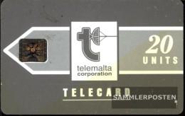 Malta 1380  20 Units Used Telecard Lm1 - Malta