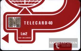 Malta 1370  40 Units Used Telecard Lm2 - Malta