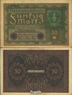 Deutsches Reich Rosenbg: 62a, Reihe 1 Gebraucht (III) 1909 50 Mark Wiener - 50 Mark