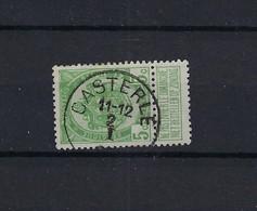 N°83 (ntz) GESTEMPELD Casterle COBA € 6,00 - 1893-1907 Wappen
