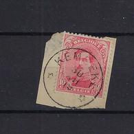 N°138 GESTEMPELD *Kemseke* 1919 SUPERBE - 1915-1920 Albert I.
