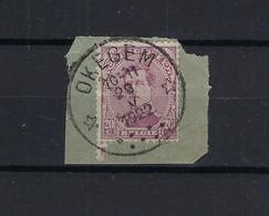 N°140 GESTEMPELD *Okegem* 1922 SUPERBE - 1915-1920 Albert I.